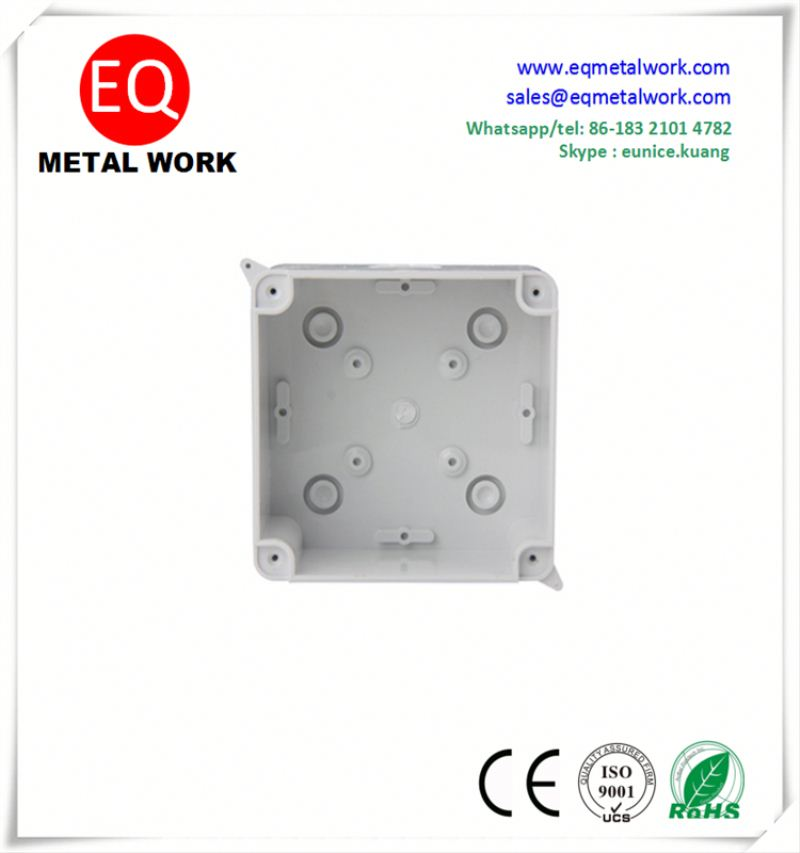 Pvc hinged junction box residential junction box watertight electrical box