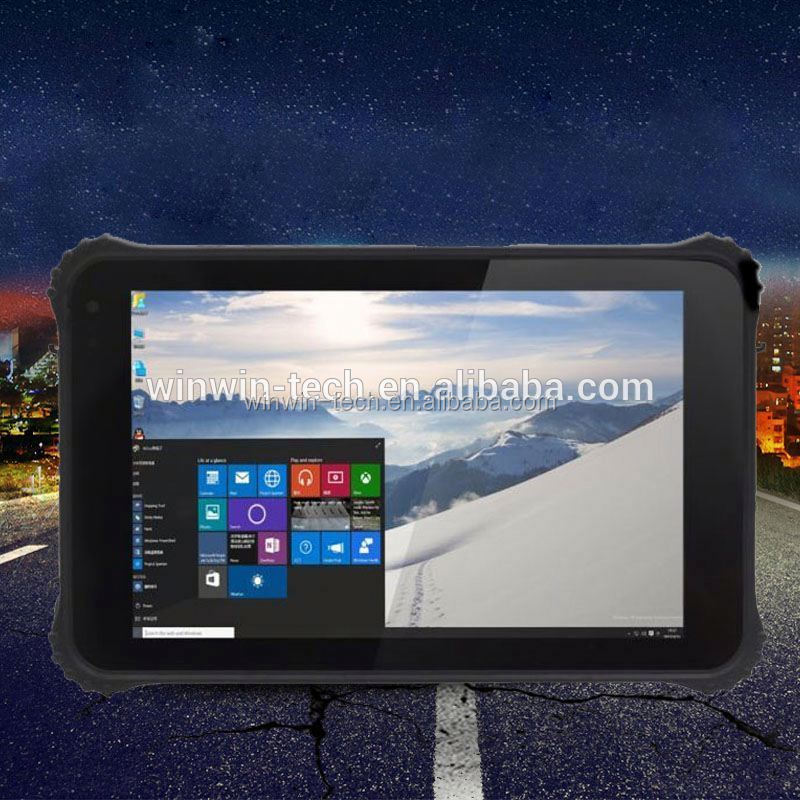 8Inch all in one dual core ip65 industrial android rugged tablet with barcode scanner