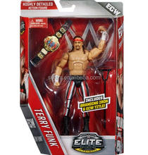 highly detailed warrior wresting movable figure/custom made movable wresting action figure/oem movable action figure maker