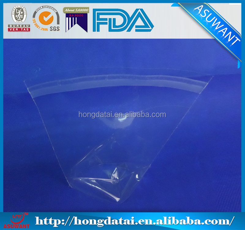 Self adhesive opp/cpp plastic bag for dry food