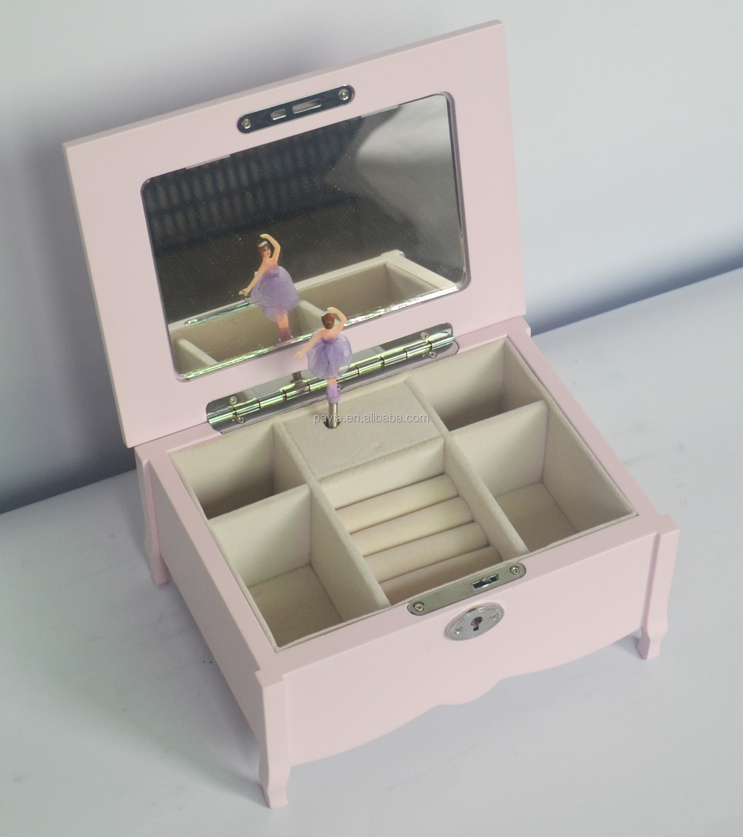 PM023A wholesale music boxes ballerina kids musical mechanism for boxes