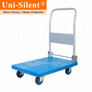 Uni-Silent 150kgs Capacity Foldable Hand Trolley Cart PLA150P-DX