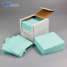 Household Goods Antibacterial Spunlace Nonwoven Cleaning Wipes Cloth