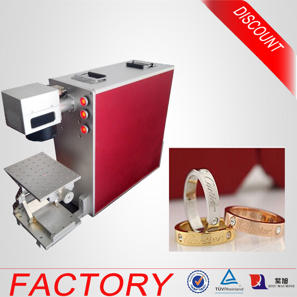 Portable Rings Print Laser Marking Machine for Date