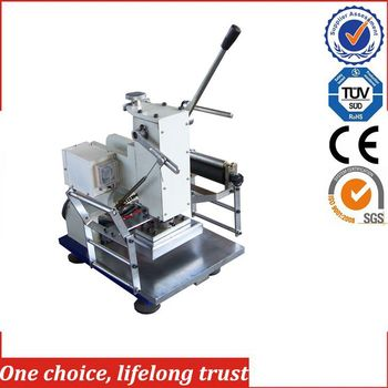 TJ-18 2017 new products portable hot stamping machine for small business at home