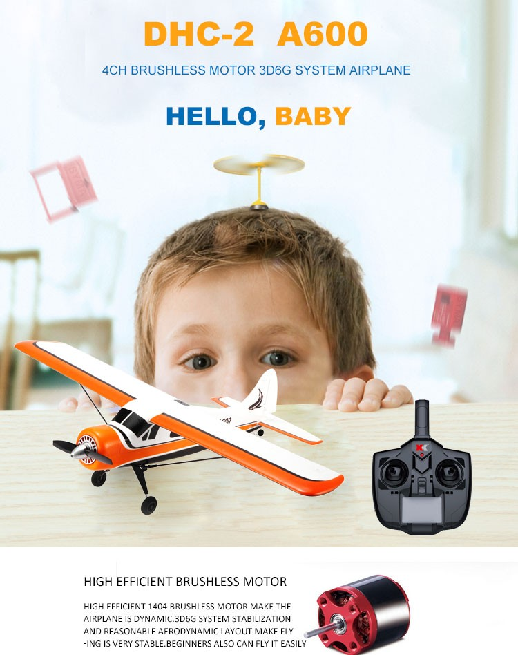 2.4G Kids High Quality RC Plane