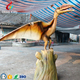 Fierce Simulation Flying Pterosaur Dinosaur Model with Movements