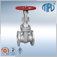 Gear Hand Operation 6 inch water gate valve for water treatment