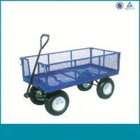 Moving Garden Cart With 4 Wheels Made In China