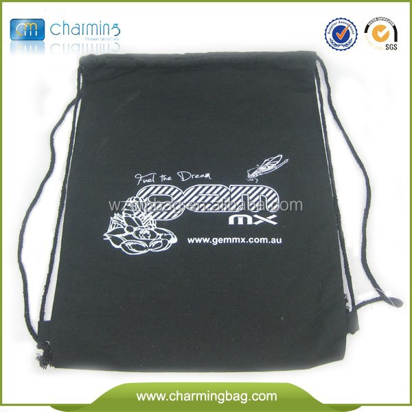 7OZ Black Cotton Promotion Bag