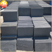 Natural Surface Black Slate Tile For Floor Paving