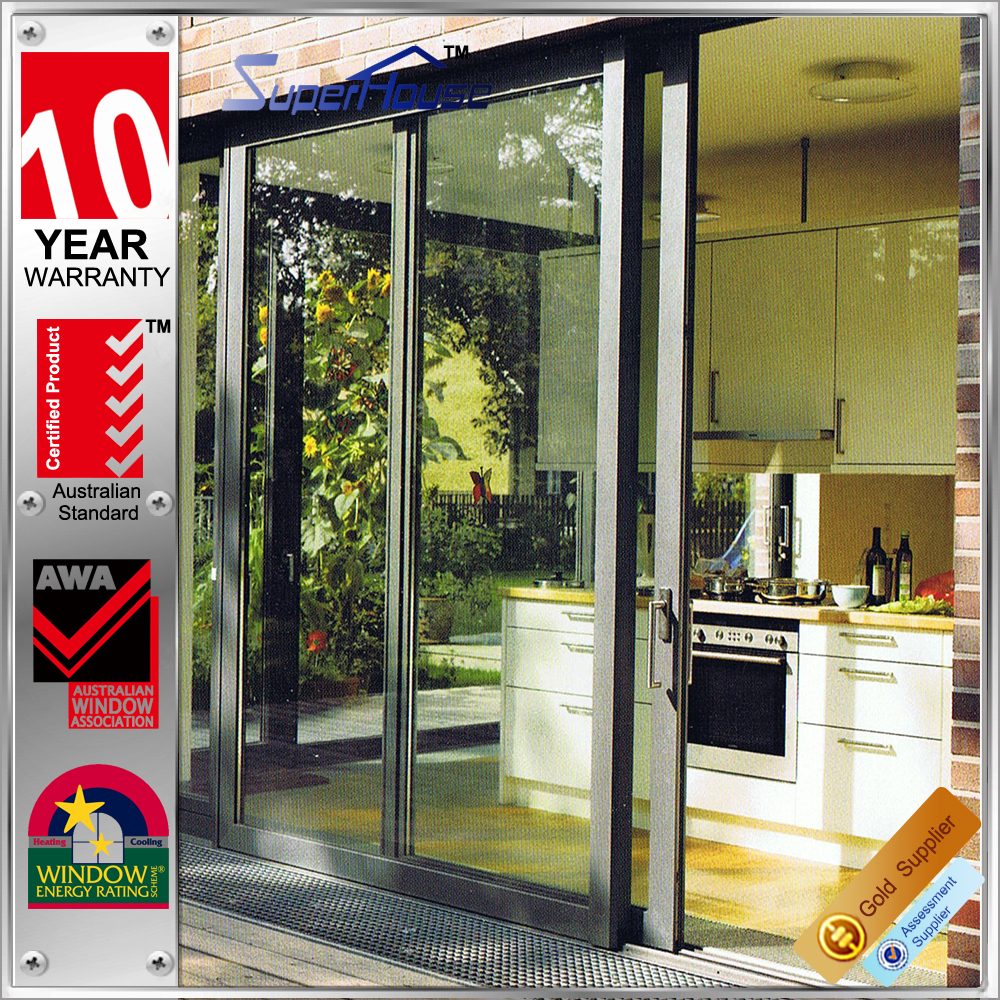 Australian standard heat insulation sliding aluminium doors and window section