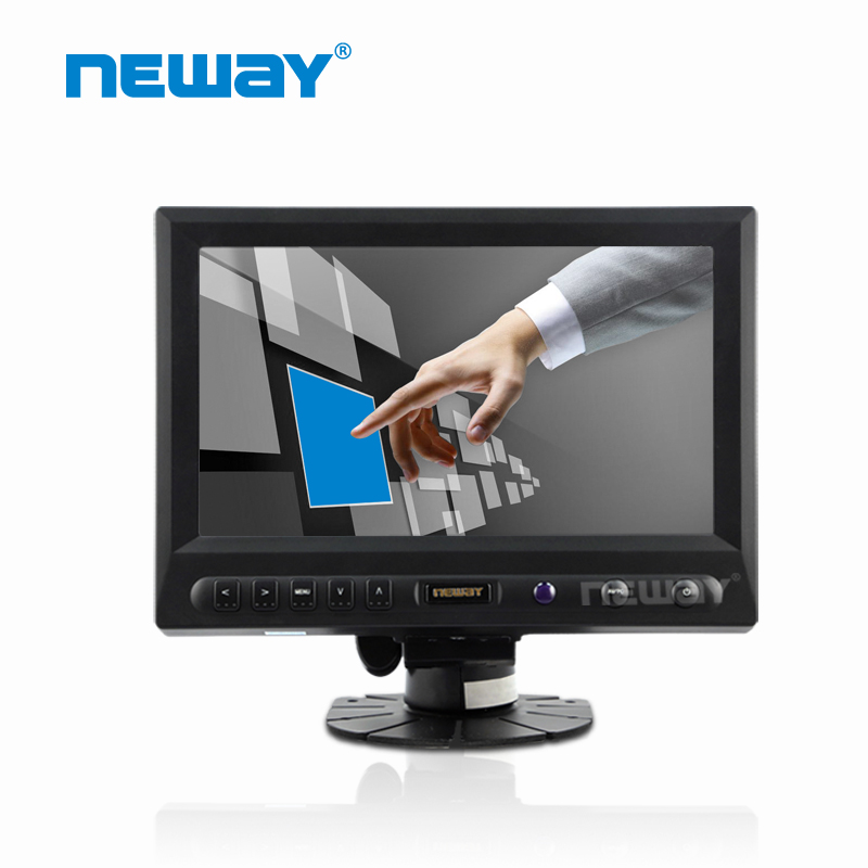 8 inch small lcd video monitor with touch panel
