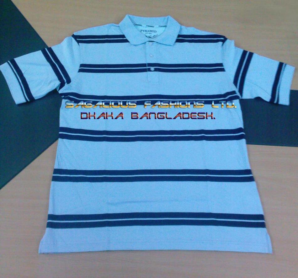 100% Cotton 160 GSM allover printed polo shirts.