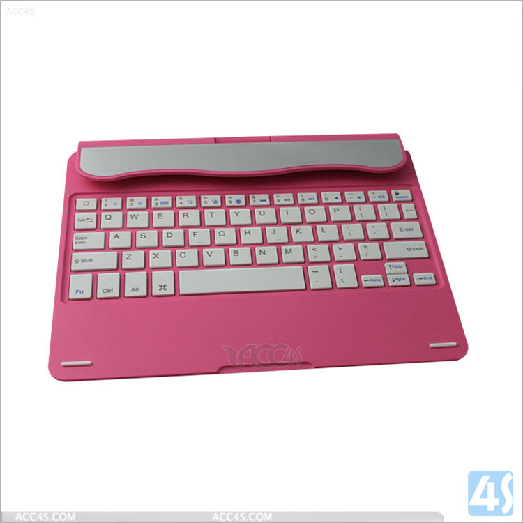Pink Luxury For ipad 5 Aluminum slim wireless Bluetooth keyboard for ipad Air