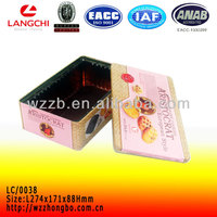 Wholesale toys tin box ,green tea tin box