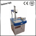 30w color fiber engraving machine on stainless steel sheet, fiber marking on pet id tags, piegong bird ring