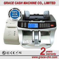 2015 hot sell item Intelligent cash currency banknote Bill Counter with UV, MG, IR, MT, and VALUE