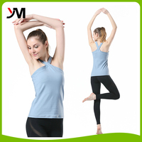 Women Fitness yoga vest Custom Made Sportswear compression gym clothing
