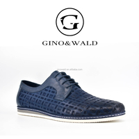 GINO&WALD Brazilian brand names wholesale mens genuine leather shoes