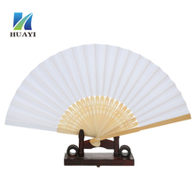 abanico de papel wholesale customized folding paper fan