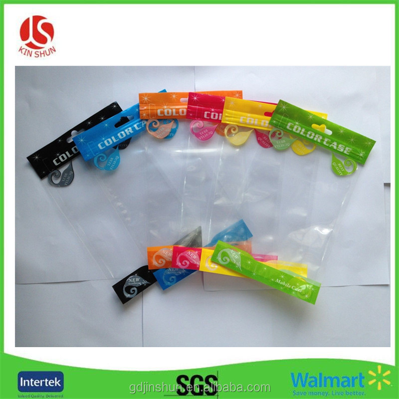 100pcs Plastic package poly zipper lock bag for Mobile Cell Phone Case Packaging