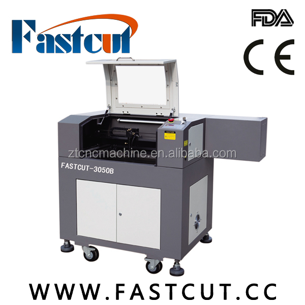 FASTCUT6040 Cheap factory directly sale fabric laser cutting machine plastic pressboard PVC