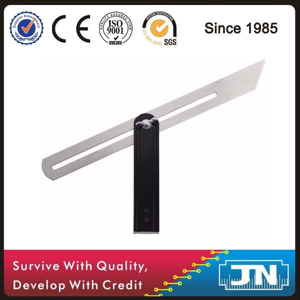 10 inch aluminium Sliding T-Bevel adjustable angle square hand tools