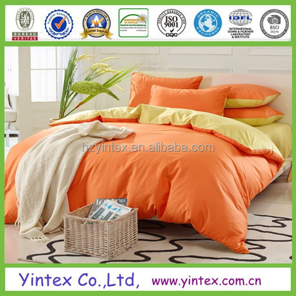 Wholesale Commercial bed sheets set and bed linen