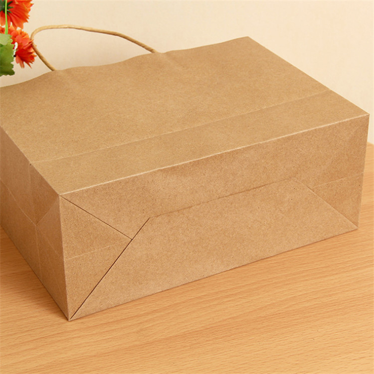 Customized kraft paper food bag for packaging