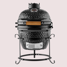 Auplex Ceramic Barbecue Smoker Grill Kamado Charcoal Grill