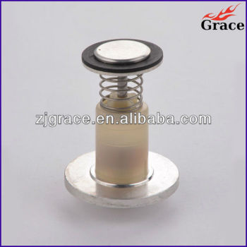 Magnet unit magnet valve for flameout safety device