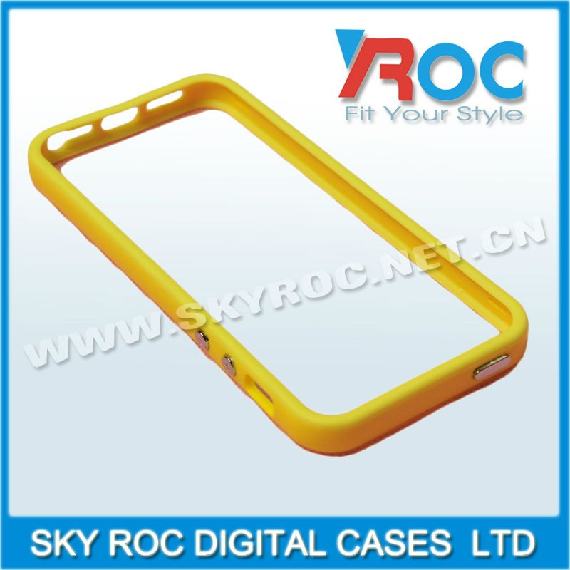 2013 New arrival TPU Bumpers case bumper frame for iPh 5 5G