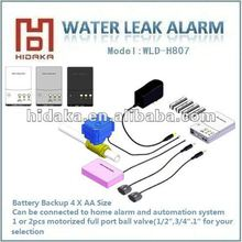 Auto Shutoff Stop with OEM Water Heater Flood Detector