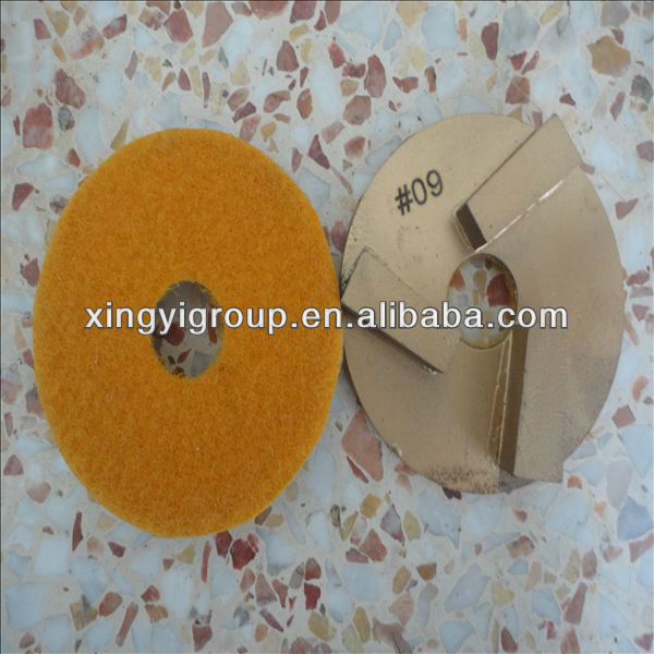 3inch terrazzo grinding pads for polishing