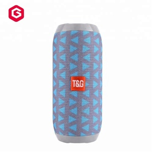 Cheap price Fabric Speaker Support TF/USB/Handsfree Call TG117 Wireless Speaker Waterproof Portable Outdoor Speaker