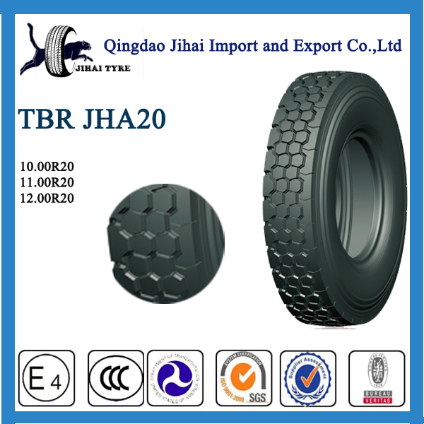 semi truck tyre size of 12.00R20