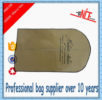 2015 eco-friendly nonwoven garment bags with pocket