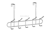 Haisong Factory New Product Over the Door Coat Hanging Hooks