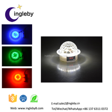 wholesale price ktv decoration romantic led light magic spinning ball