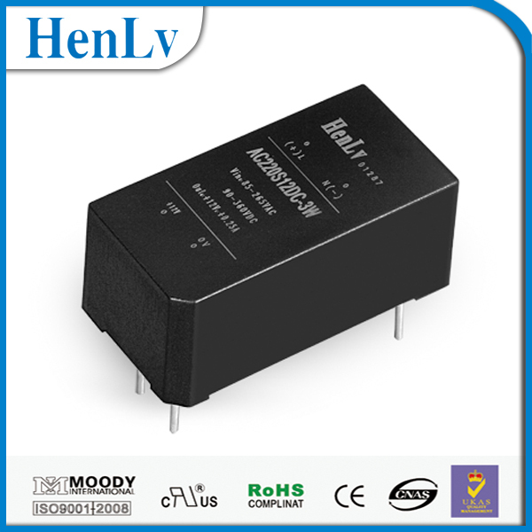 Henlv High Quality coverter ac dc 3w