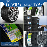 Alibaba Hot Sale Custom Barcode Printed Adhesive Tyre Label