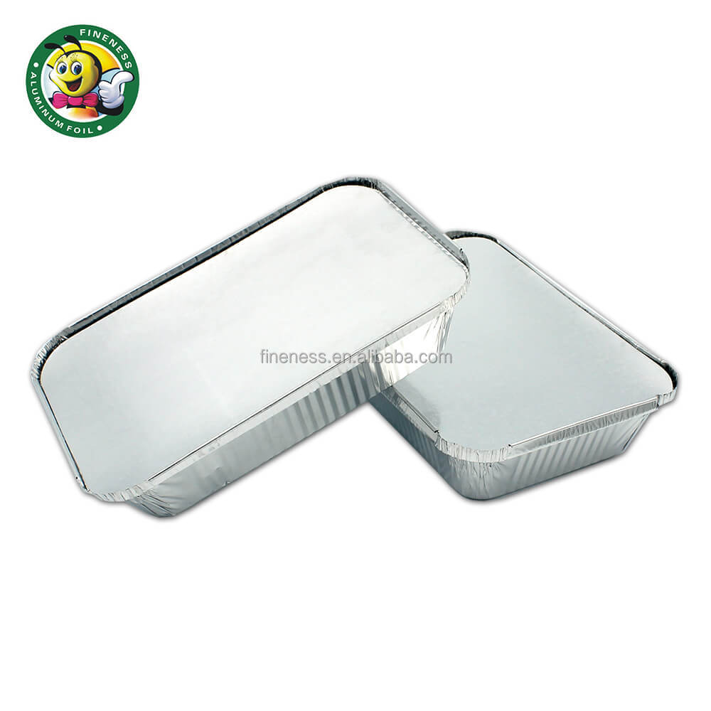 China suppliers fineness disposable aluminum foil container / tray /lunch box for food packaging