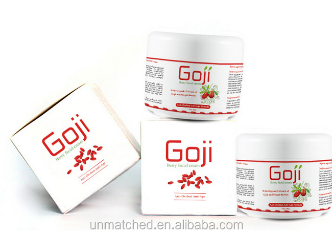 anti-oxidant anti-age with organic extracts of goji and maqui berr fical <strong>cream</strong> 100g