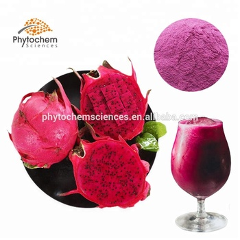 pitaya extract juice organic freeze dried red dragon fruit powder