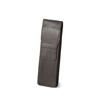 Genuine leather Pen case with logo