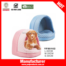 Pink waterproof crown dog cage pet house
