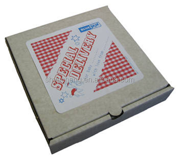 fashion cheap wholesale kraft paper pizza box manufacturer
