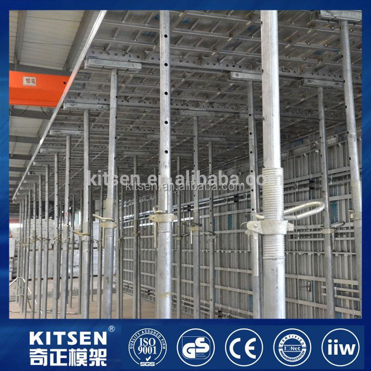 China manufacturer durability concrete aluminum sheet table formwork