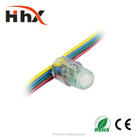 HHX ip66 waterproof SMD 5050 WWA led pixel light 12mm DC 5V